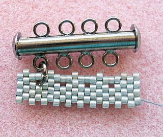 Attaching a clasp