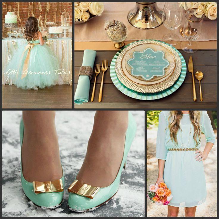 17 Best Ideas About Mint Gold Weddings On Pinterest Mint