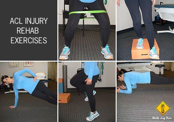 acl injury rehab exercises