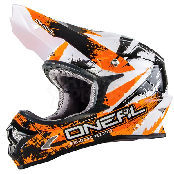 2016 oneal 3 series motocross helmet shocker black. Black Bedroom Furniture Sets. Home Design Ideas