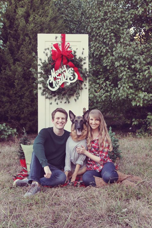 dog photo christmas card ideas - 17 Best ideas about Dog Christmas on Pinterest
