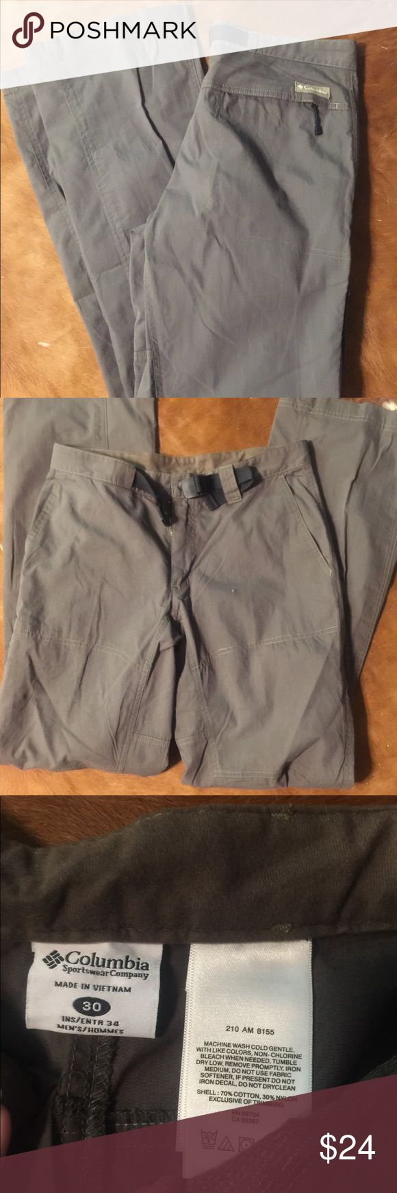 NWOT Columbia outdoors pants sz30 NWOT Columbia outdoors light weight pants Sz 30. No holes rips or defects! Great for hiking, camping or fishing!! Columbia Pants Track Pants & Joggers