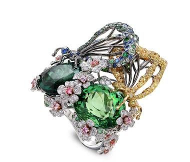 Anna Hu is one of a new wave of Asian designers creating a stir with her artistic jewels