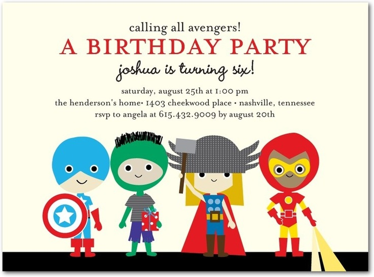 1000+ images about The Avengers Party Ideas on Pinterest ...