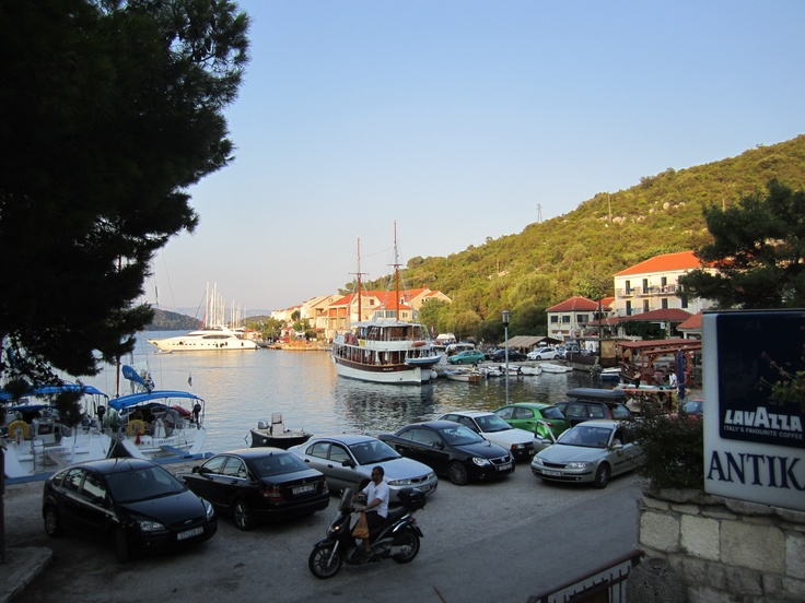 2012 August Croatia - one of the southern islands we moored in