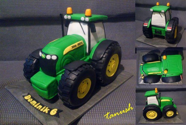 traktor John Deere 2, Inšpirácie na originálne torty narodeninové