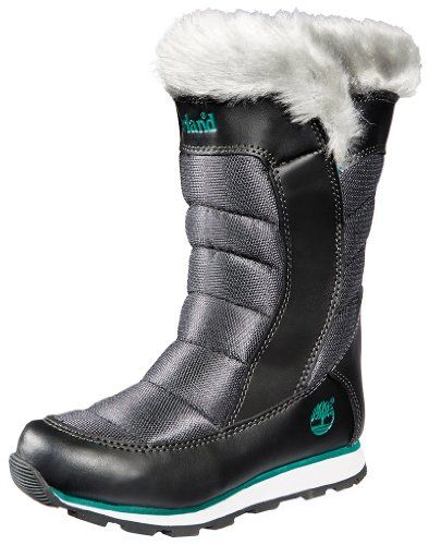 Timberland Winter Carnival Tall Boot (Toddler/Little Kid/Big Kid) -  	     	              	Price:              	View Available Sizes & Colors (Prices May Vary)        	Buy It Now      This cool-weather from Timberland boot features a plush faux fur lining and a grippy sole.   Polyester faux fur lining through forefoot for warmth Convenient pull on styling...