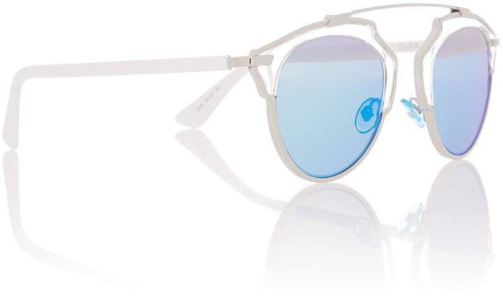 f79dc373a639 Dior Sunglasses CD SOREALS female silver round sunglasses