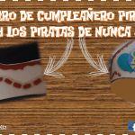 Moldes para gorro pirata, cumpleaños pirata