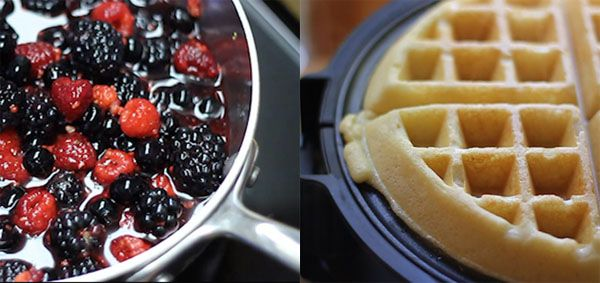 These look spectacular. We are  jonesin for a waffle right about now. GLUTEN-FREE BROWN-BUTTER YEASTED WAFFLES #Glutenfree, #waffles