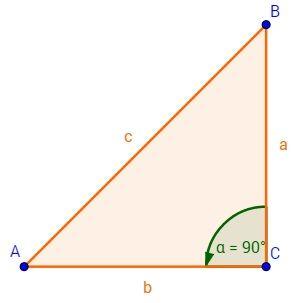 Das Dreieck mit Erklärungen zur Beschriftung und Berechnung von Seiten, sowie der Fläche. Dabei auch Kathetensatz, Höhensatz, Satz des Pythagoras und vieles mehr.