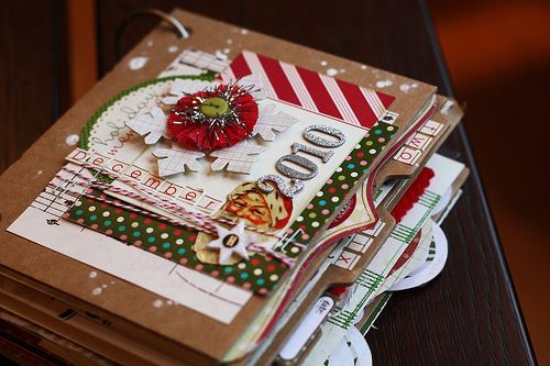 Christmas mini album - Cute!!!