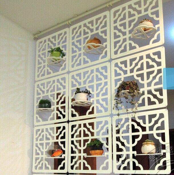 Aliexpress.com: Comprar Tallada en madera separador de guante colgando pantalla partición oficina entranceway blanco marfil breve recorte de Partition Magic fiable proveedores en JWJ Fashion Store