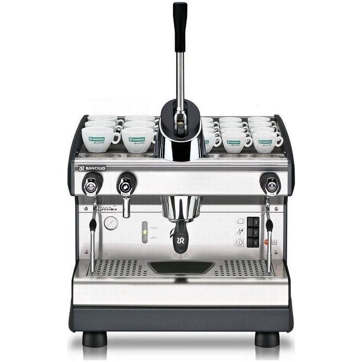 Rancilio Espresso Machine Classe 7 Lever 1 Group w/ C Lever Steam