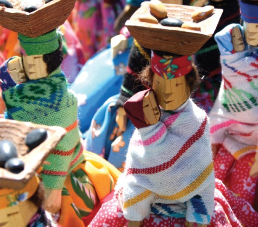 Muñecas Tarahumaras  Chihuahua, México