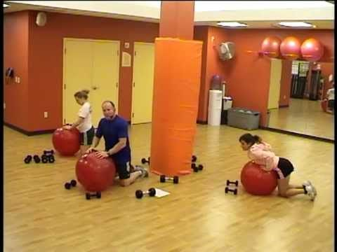 Stability Ball Strength Training