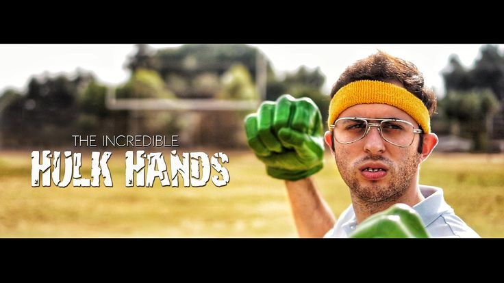 The Incredible Hulk Hands (04:15) Directed by Ari Fararooy Short film about a nerd and a pair of supernatural Hulk Hands.