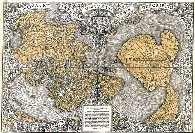 オロンテウスの地図 | 昔の地図, 古い地図, 古地図