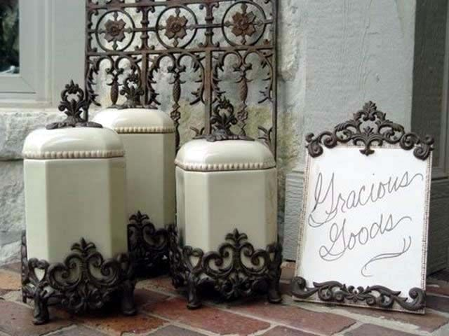 GG Collection Canisters at Classic Hostess. Functional and Beautiful!