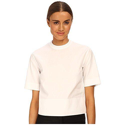 (ディースクエアード) DSQUARED2 レディース トップス 半袖シャツ Bridget Midi Top 並行輸入品  新品【取り寄せ商品のため、お届けまでに2週間前後かかります。】 表示サイズ表はすべて【参考サイズ】です。ご不明点はお問合せ下さい。 カラー:White 詳細は http://brand-tsuhan.com/product/%e3%83%87%e3%82%a3%e3%83%bc%e3%82%b9%e3%82%af%e3%82%a8%e3%82%a2%e3%83%bc%e3%83%89-dsquared2-%e3%83%ac%e3%83%87%e3%82%a3%e3%83%bc%e3%82%b9-%e3%83%88%e3%83%83%e3%83%97%e3%82%b9-%e5%8d%8a%e8%a2%96/