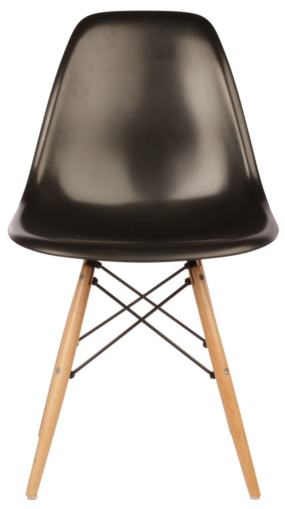 The Matt Blatt Replica Eames DSW Side Chair - Plastic by Charles and Ray Eames - Matt Blatt