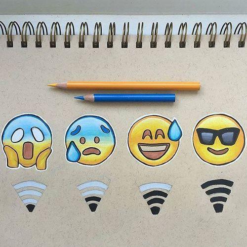 wi-fi emojis