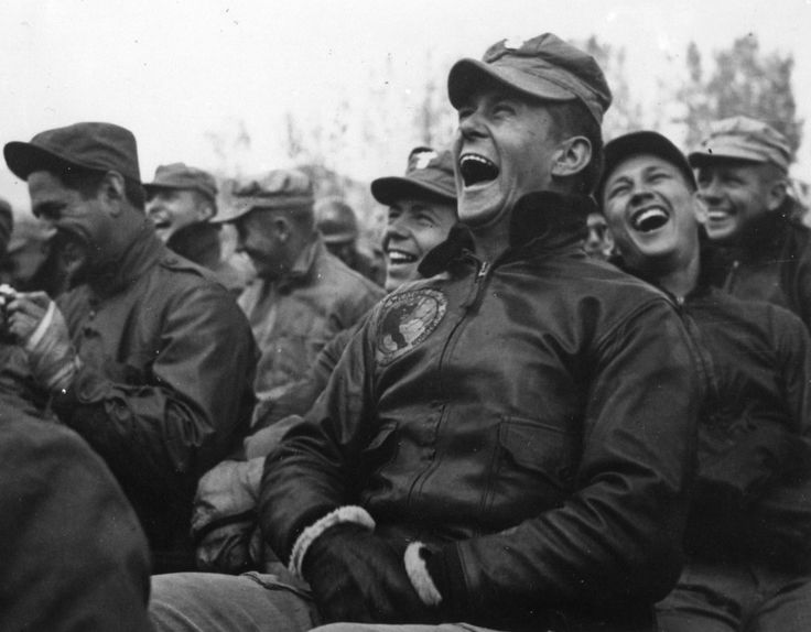 Image result for american soldiers laughing ww2