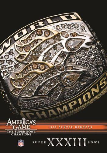NFL: America's Game - 1998 Denver Broncos - Super Bowl Xxxiii [DVD]