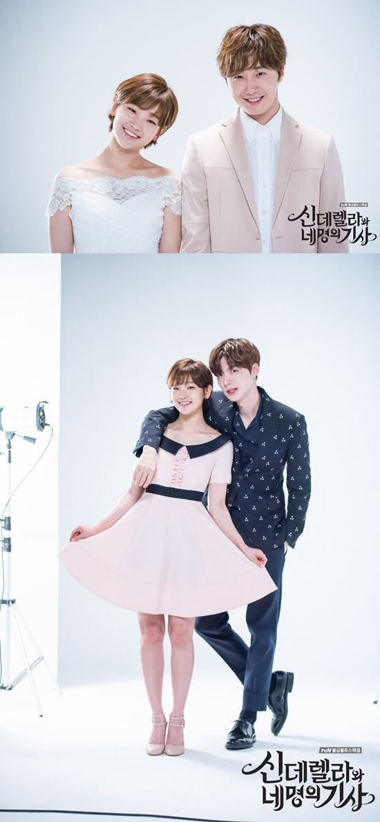 'Cinderella and the Four Knights' Park So-dam, Jeong Il-woo and Ahn Jae-hyeon show off adorable chemistry
