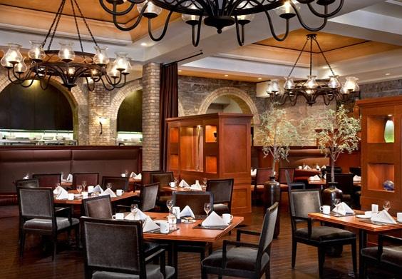 Thomsons Restaurant (at the Hyatt Hotel) - wonderful Sunday brunch here!