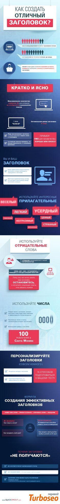 Олеся Шульцева: Комикс о том, как написать отличный заголовок #infographic http://turboseo.net.ua/blogue/Write-incredible-titles-headlines.htm via @Turboseo_ua