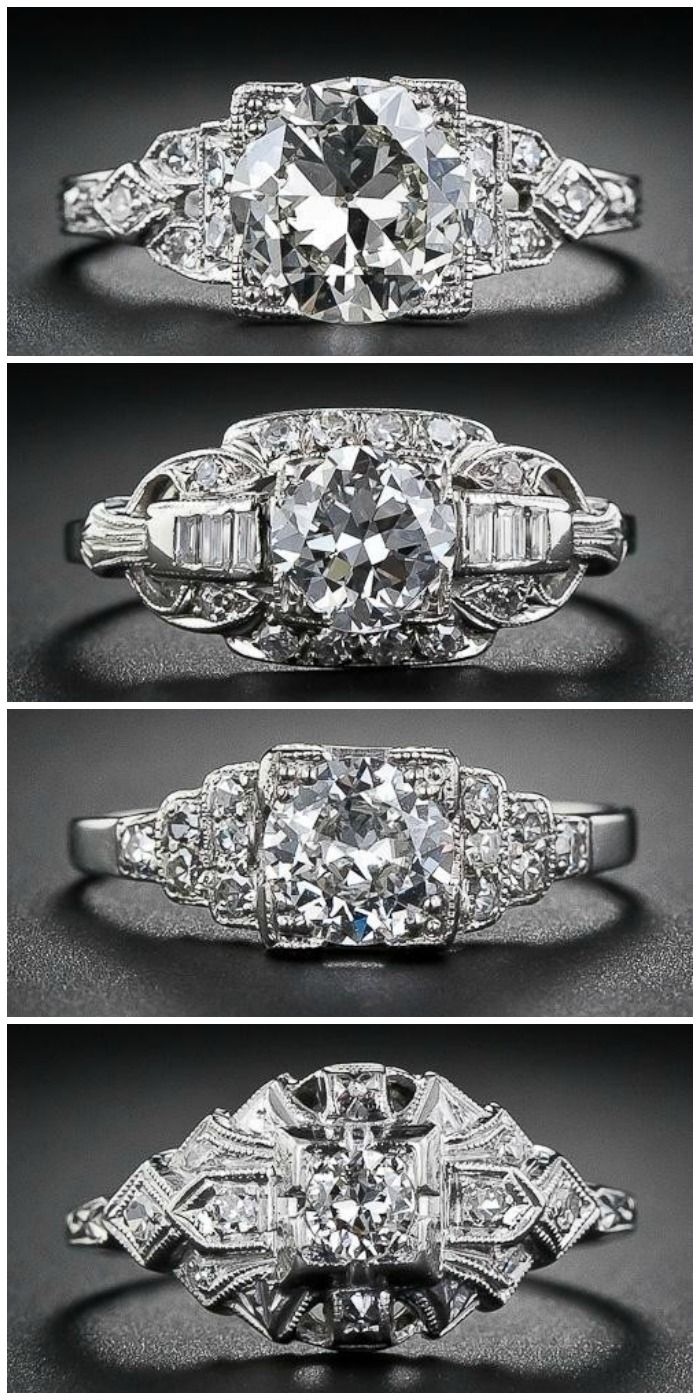 25 best ideas about art deco engagement rings on. Black Bedroom Furniture Sets. Home Design Ideas
