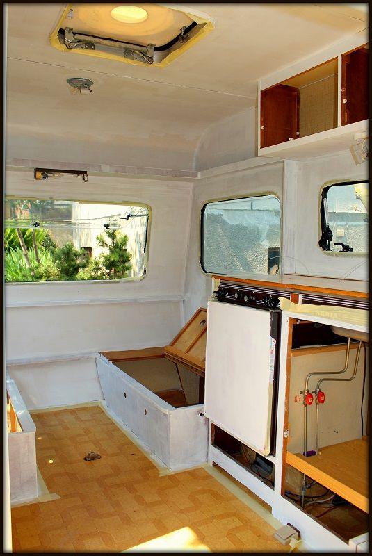 Die besten 25 Wohnwagen renovieren Ideen auf Pinterest  Camper renovieren