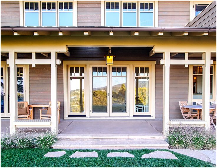 53 best porches images on pinterest craftsman porch for Craftsman style screened porch