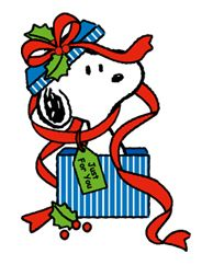 Snoopy Christmas images - http://stickersocial.net/snoopy-christmas-stickers/