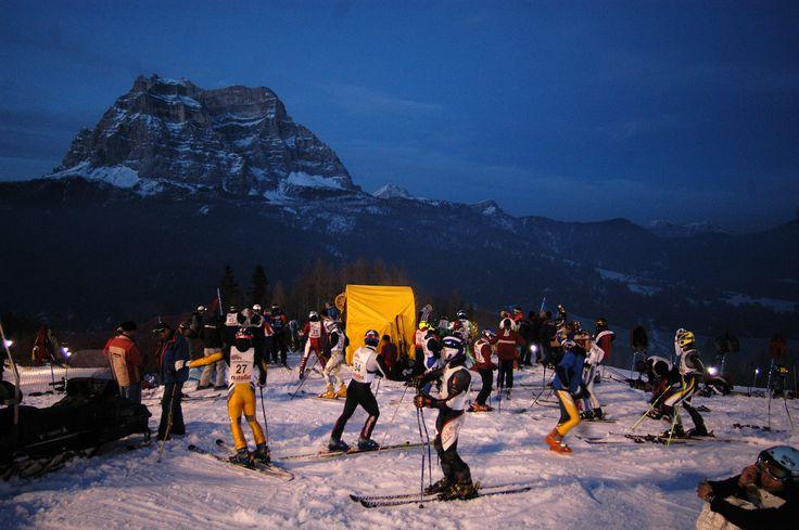 Ski races in #dolomitistars
