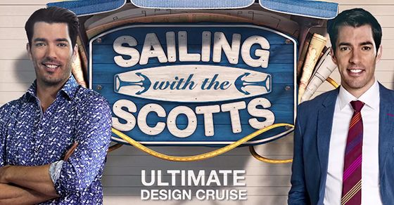 Win a dream cruise with Jonathan and Drew!