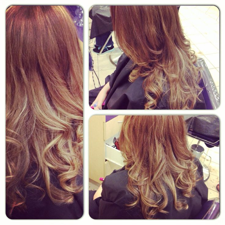 Cut & colour I did, blonde highlights underneath