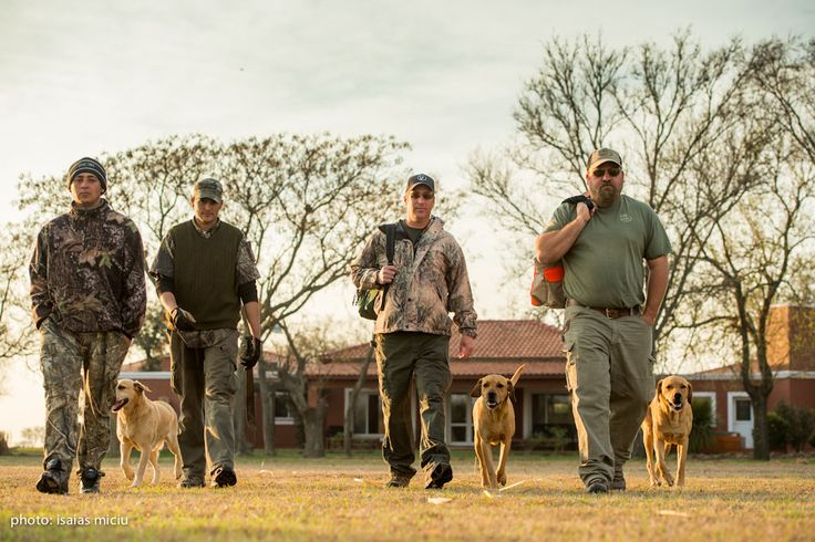 Ready for hunting in La Zenaida!