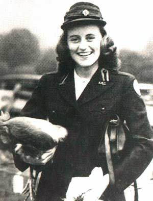 Kathleen Agnes Kick Kennedy, Marchioness of Hartington, m William John Cavendish, eldest son of the 10th Duke of Devonshire on 6 May 1944. He died four months later in WWII.