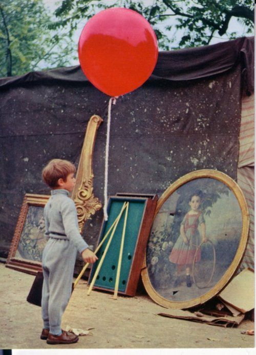 THE RED BALLOON (1956). Albert Lamorisse's classic French short about a boy and his loyal balloon evading bullies on the streets of Paris.