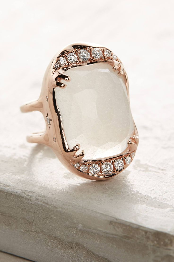 Shop Desiderium Moonstone Ring #ring