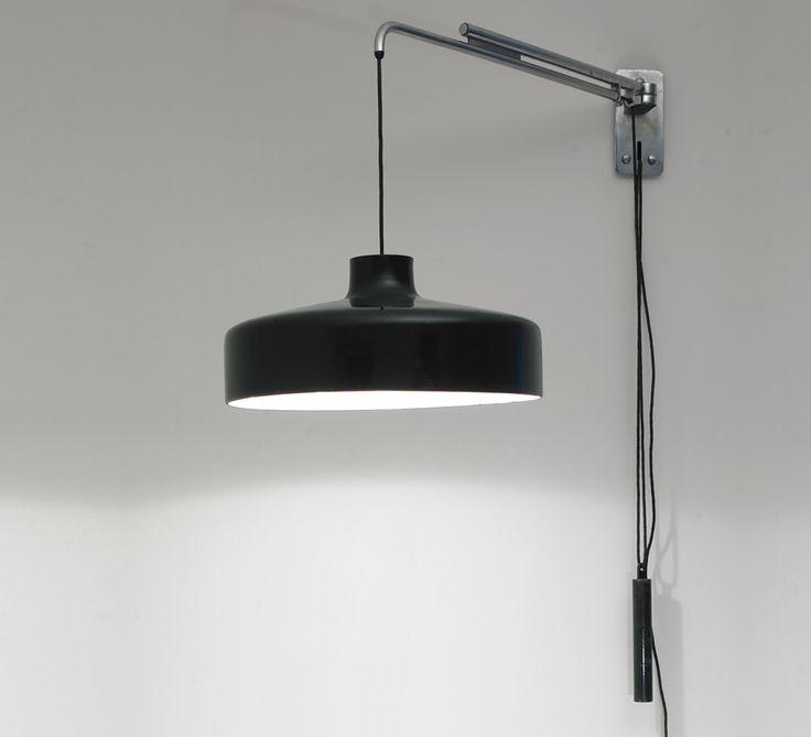 Gino sarfatti 194 n wall light arteluce 1950 kreo