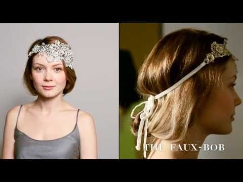 ▶ The Faux-Bob Hairstyle the Colette Malouf Way - YouTube