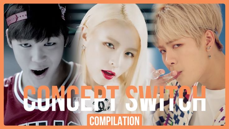 KPOP Concept Switch - Cute to Sexy, Adorable to Scary (35 Groups)
