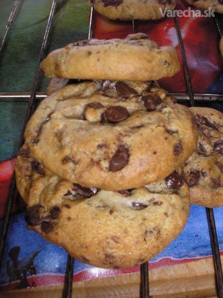 Čokoládové chip koláčiky - cookies (keksové)