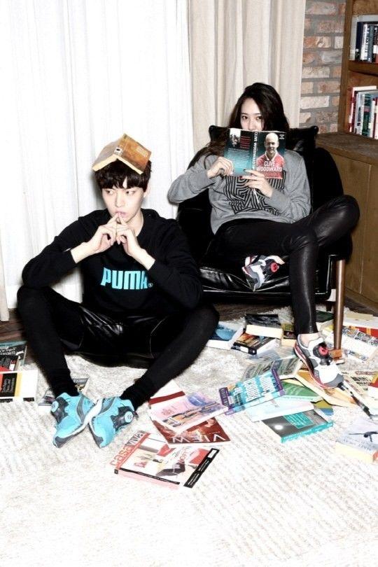 Krystal / Ahn Jae Hyun PUMA