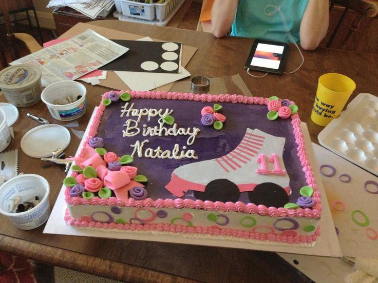 walmart+cakes+shaped+like+a+roller+skate | rollerskate cake 7