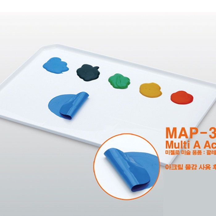 Mijello Multi Acrylic Color Peel-off Tray Palette - 1 Pcs #Mijello