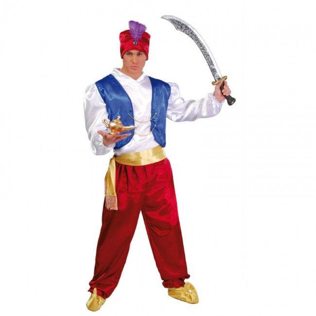 Disfraz de Guerrero Árabe Aladín para hombre #disfraces #carnaval #novedades2017